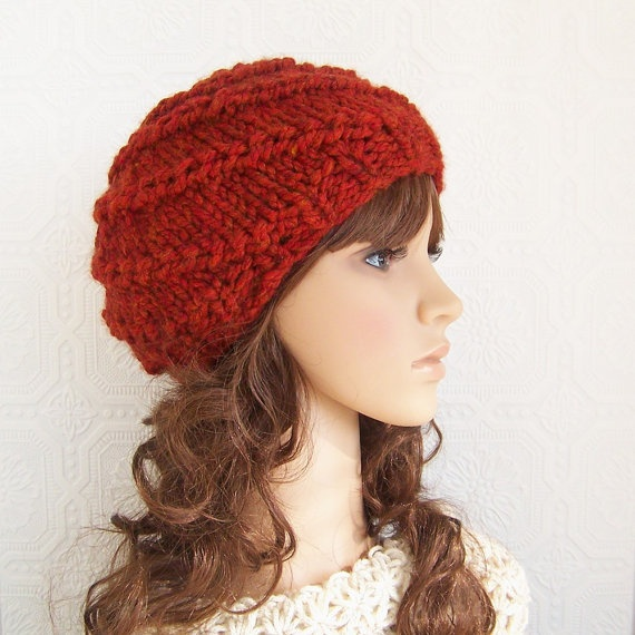 Beanie hat knitting pattern for adults