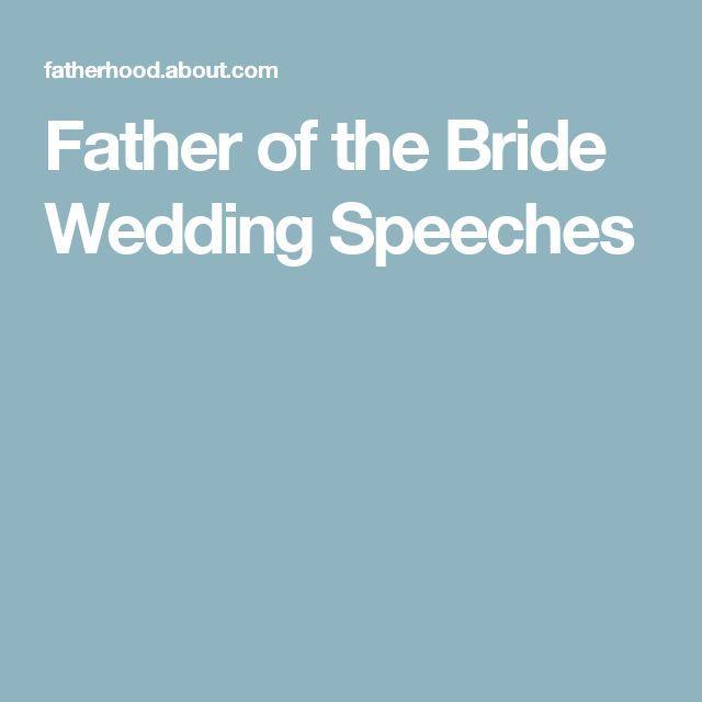 Best 25+ Father of bride speech ideas on Pinterest ...