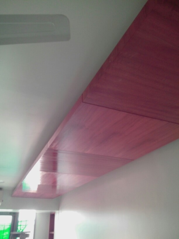 veneered false ceiling