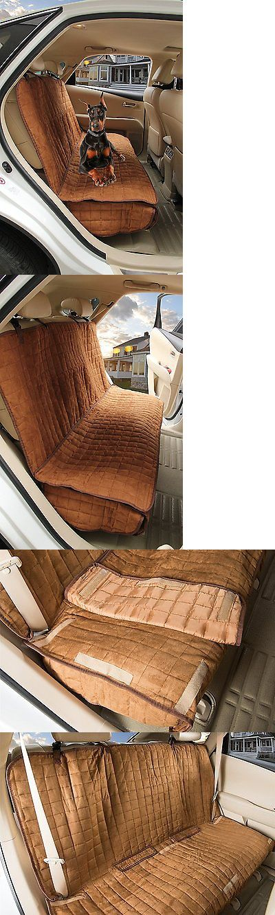 Car Seat Covers 117426: Big Water Repellant Box Quilted Car Seat Protector Dog Bench Seat Cover Pets New BUY IT NOW ONLY: $36.67