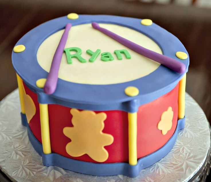 music-theme first birthday party