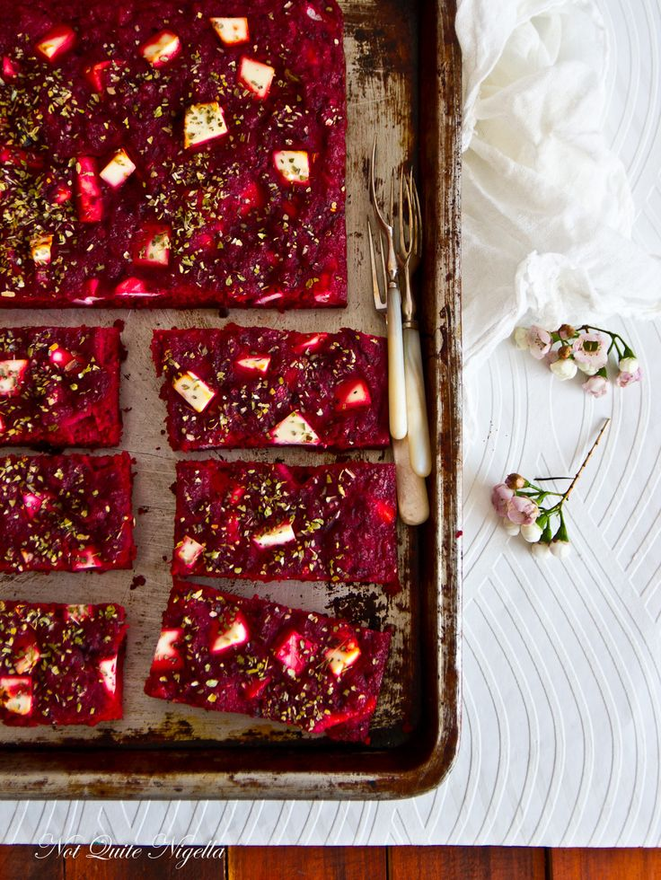 Beetroot & Feta Bars