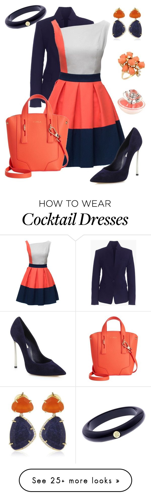 """Classify Designer Store #1"" by amimareelynn on Polyvore featuring moda, J.Crew, Lattori, Casadei, Furla, Ted Baker, Vianna B.R.A.S.I.L i Guerlain"