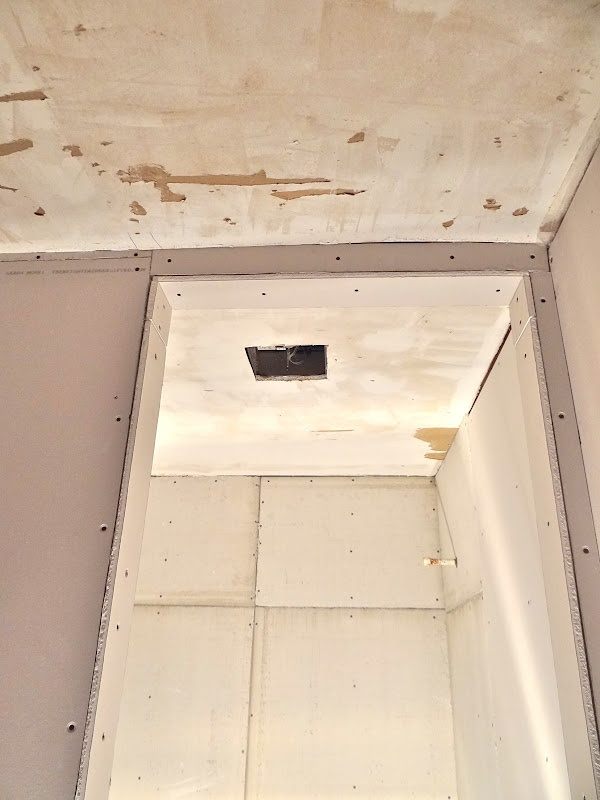 Is Plaster Better Than Drywall : How to skim coat your ceiling after scraping off the