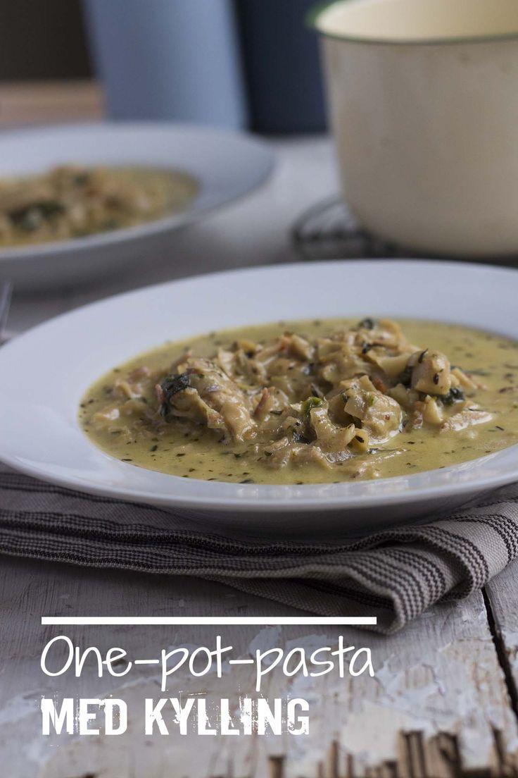 One pot pasta med kylling