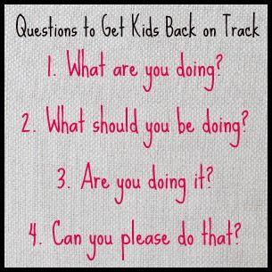 4 Behavior Management Questions