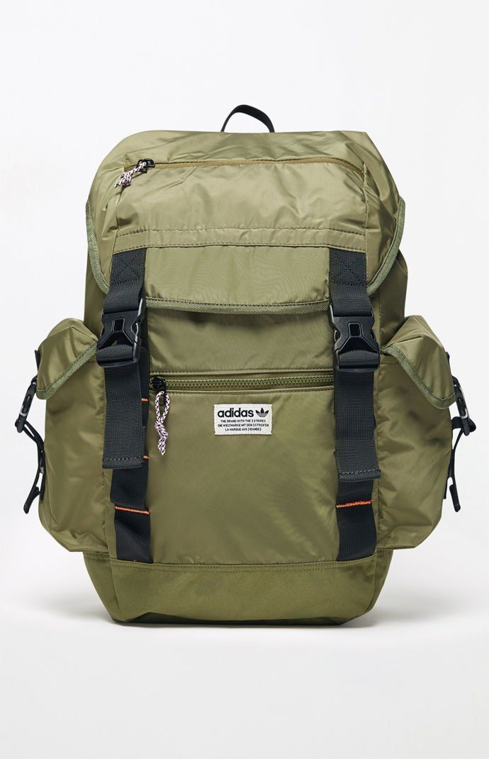 ff4b4fbbe450 adidas Urban Utility Olive Laptop Backpack