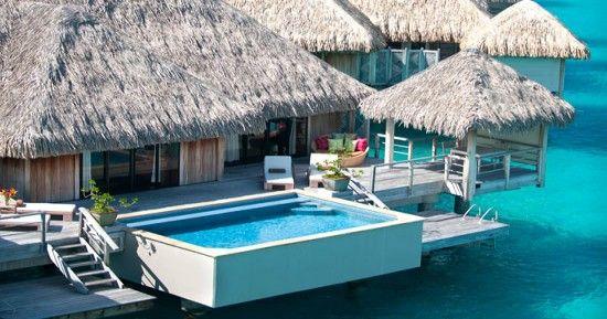 St Regis Bora Bora villa with pool