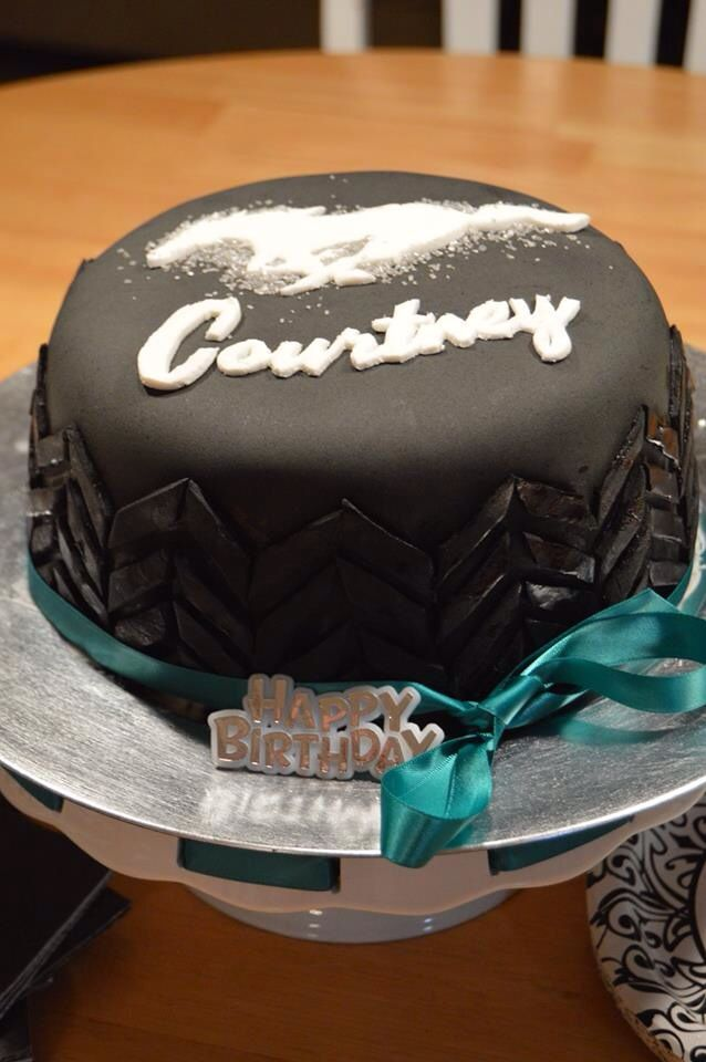 how to make a tire cake without fondant