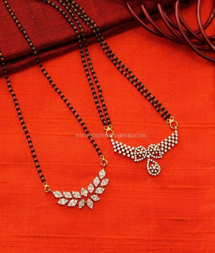 Diamond Mangalsutra Designs 2017, Latest Diamond Mangalsutra Designs 2017, Diamond Mangalsutra Models 2017.