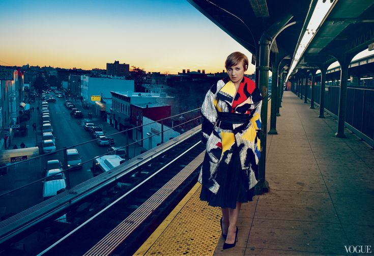 Lena Dunham: The New Queen of Comedy's First Vogue Cover