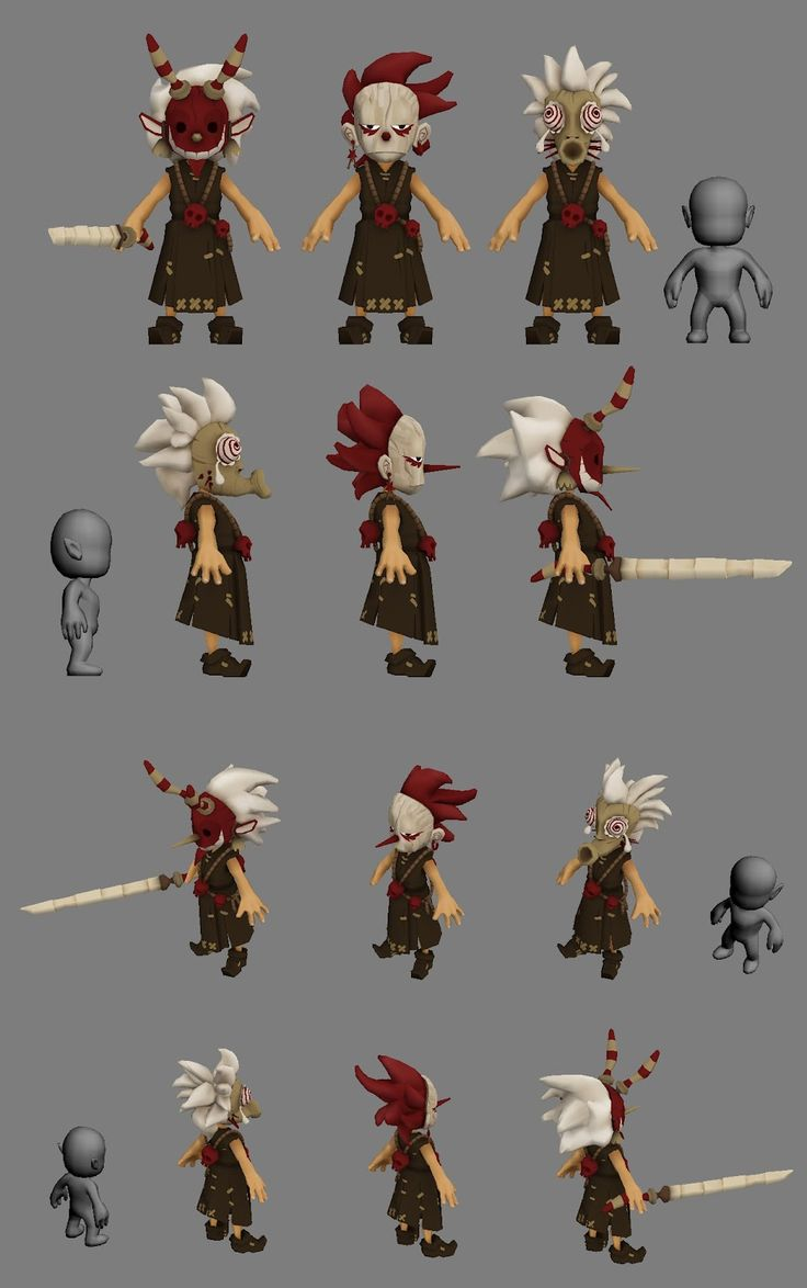 Moana W: Characters