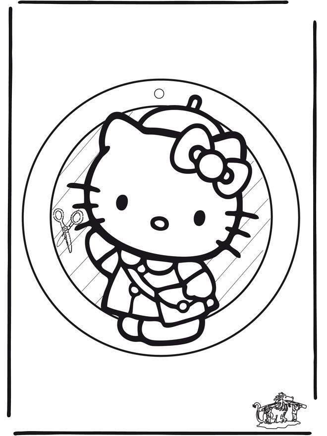 Fantastisch Hallo Kitty Valentine Malvorlagen Zeitgenössisch ...