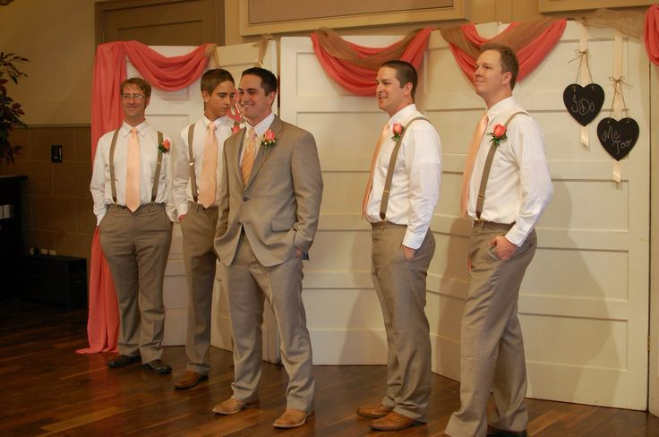 But just for the groom.... and I would like a Dark Gray suit, I think... With black boots...