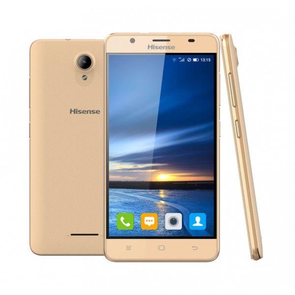 "TELÉFONO SMARTPHONE HISENSE U989 PRO Dorado 5.5"" - QUADCORE - 16GB - 1GB - 13Mpx - 5Mpx - DUALSIM - Inside-Pc - Inusnet.com - Inside-Pc Baza"