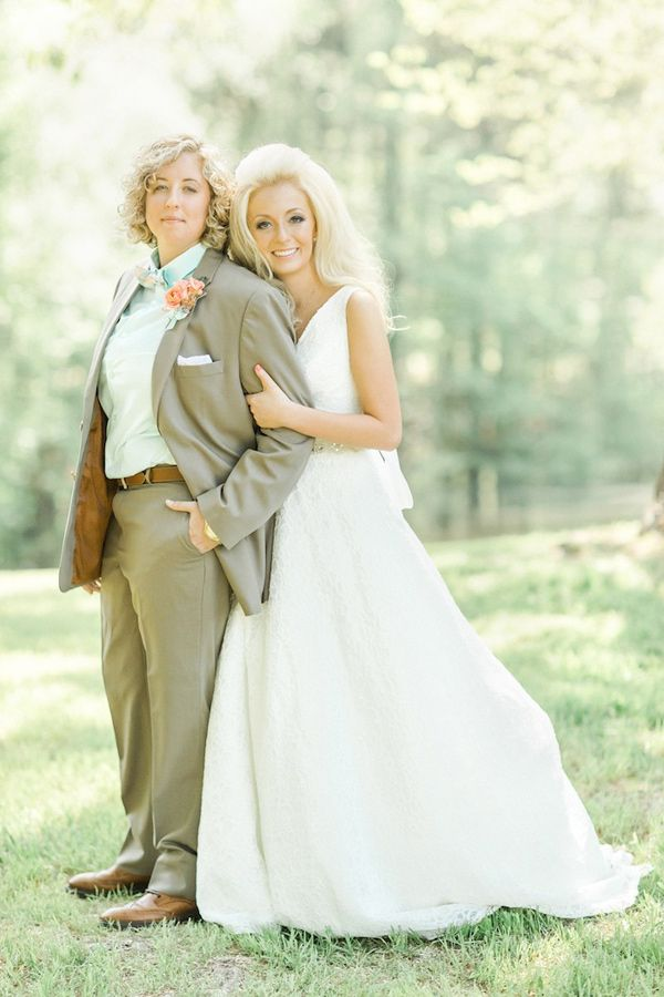 Magnolia Hill Water for Elephants Inspired Lesbian Wedding