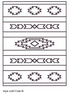 Southwestern Designs Patterns | Aztec and Southwestern Designs