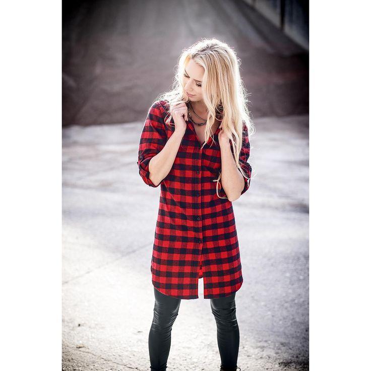Koszula flanelowa R.E.D. by EMP -Checkered Oversize Shirt- -- Kup teraz w EMP -- Więcej artykułów związanych z: Basics Koszule flanelowe  online - Najlepsze ceny!