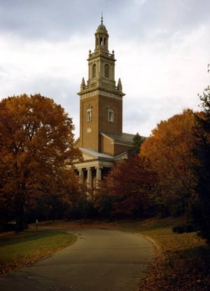 Beautiful Swasey Chapel on Denison's (University) campus..............'tis where my HS graduation ceremony was, and many after that, including my daughter's!