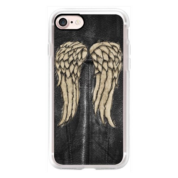 Daryl Wings - iPhone 7 Case, iPhone 7 Plus Case, iPhone 7 Cover,... ($40) ❤ liked on Polyvore featuring accessories, tech accessories, iphone case, slim iphone case, iphone cases, apple iphone case and iphone cover case