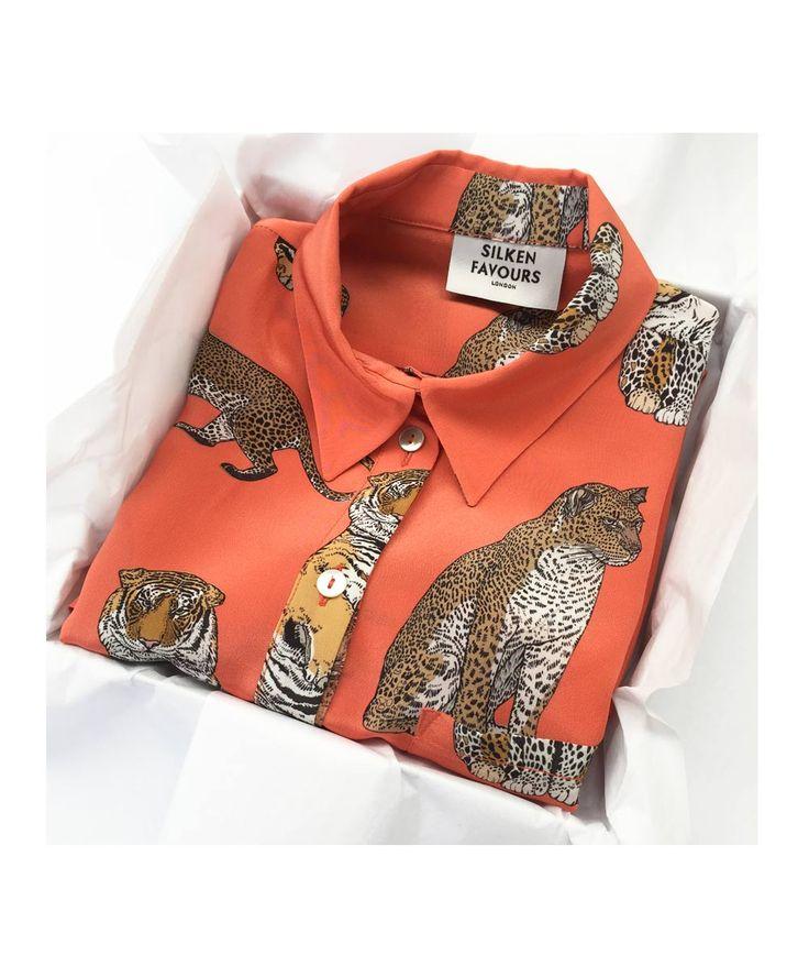 ORANGE-BIG-CATS--SHIRT-