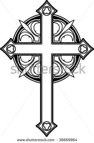 Cross Ornate Stock Photos, Cross Ornate Stock Photography, Cross ...