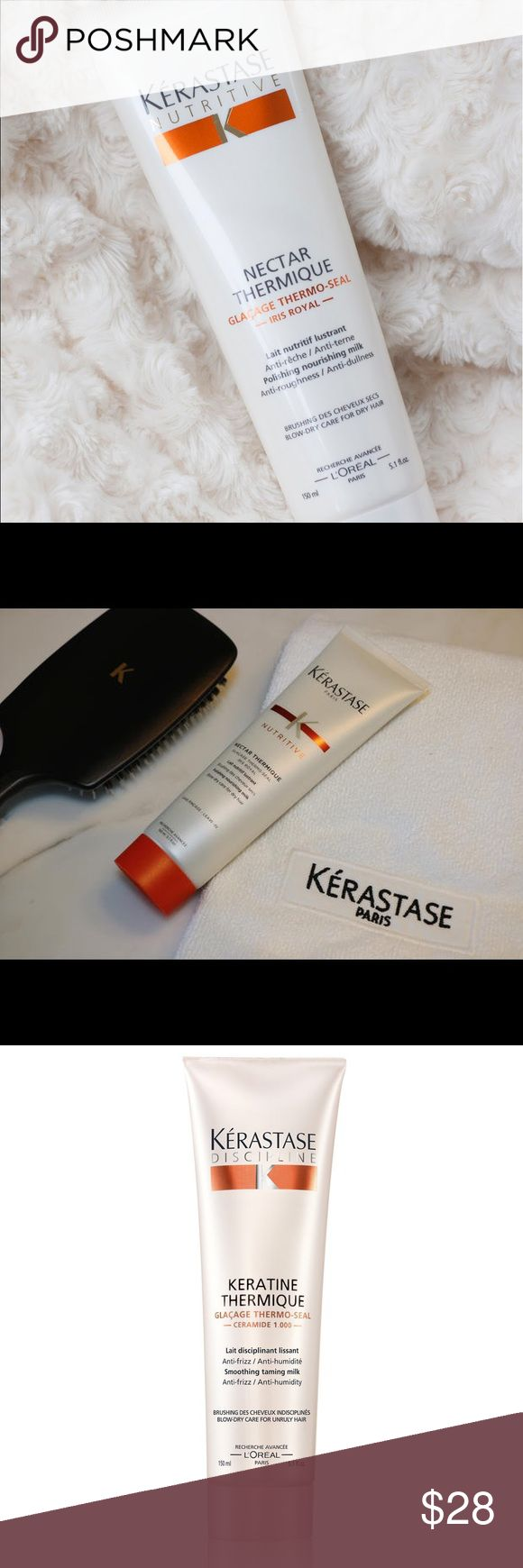 🔥SALE🔥Kerastase Thermique Protects hair from the harmful effects of heat-styling tools. Nourishes, softens and moisturizes hair. Gives hair optimal shine from roots to ends. Improves hair straightening and drying performance.      BRAND NEW!!!! Kerastase Other