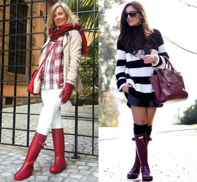 ElcoBlog: Как выбрать стильные резиновые сапоги и с чем их носить: