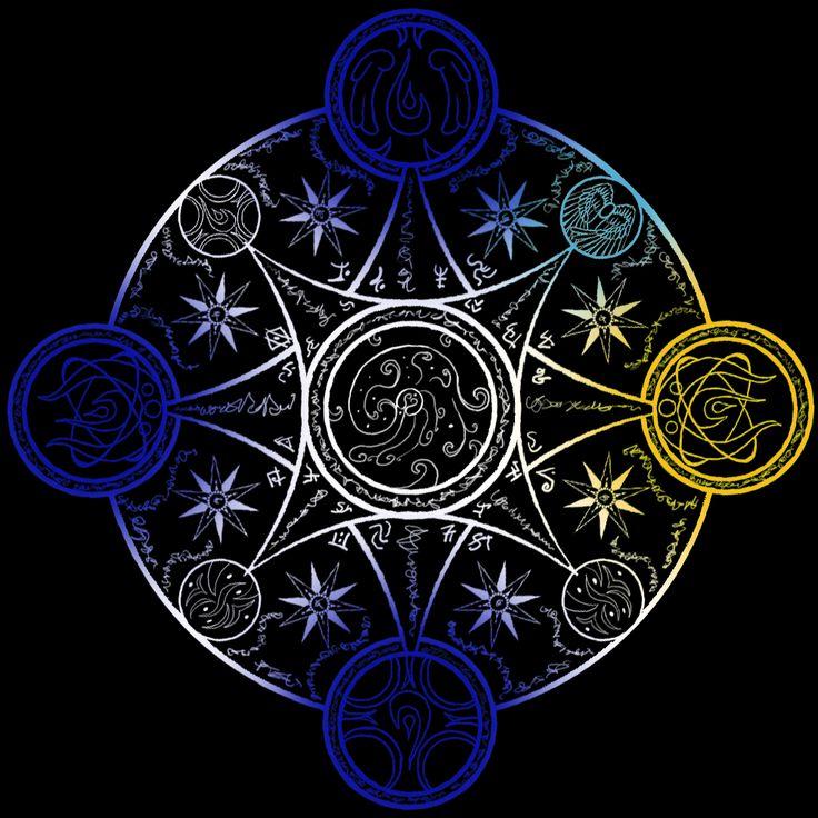 Картинки красивые мистические знаки дало