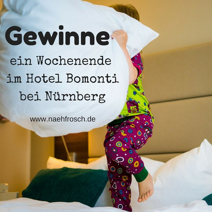 Gewinne bis 10.07.16 bei Nähfrosch 2 Übernachtungen mit Frühstück für 2 Erwachsene und bis 2 Kinder im Hotel Bomonti in Oberasbach bei Nürberg, direkt am Playmobil Funpark!!!