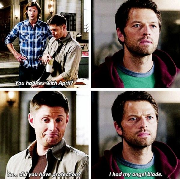 Oh Cas 》The words that are said on this show.