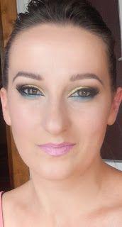 Makijaże, maseczki czyli ABC urody: Złoto i błękit - makijaż na lato