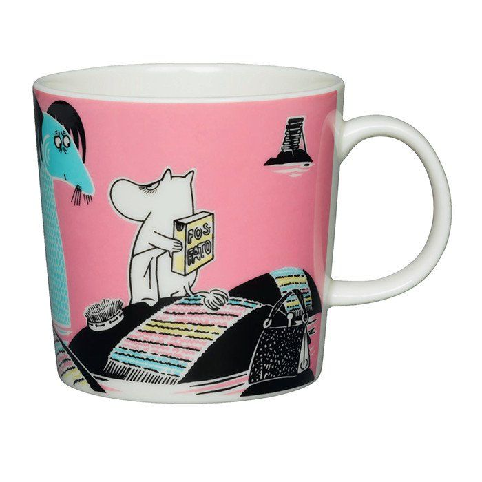 Håll Sverige Rent Moomin mug set pink and blue - The Official Moomin Shop  - 4
