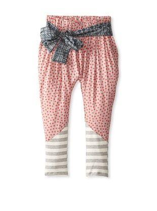 50% OFF neve/hawk Kid's The Stanton Polka Dot Pant (Pink/ Grey Dot)
