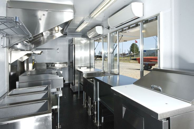 Take A Look At The Interior Of The Barone Food Truck Food Truck Kitchen Interior