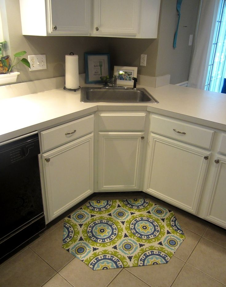 corner sink kitchen rug best 25 corner kitchen sinks ideas on 5870
