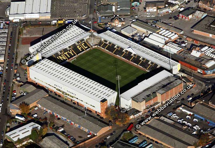 Notts County F.C. - Meadow Lane - 20.229 tilskurer