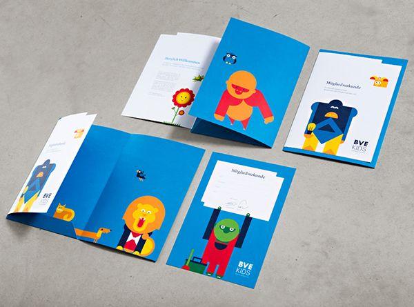 BVE KIDS Branding by EIGA Design, via Behance