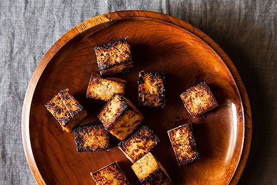 This looks amazing for when im in the mood for tofu. Japanese-Style Fried Tofu recipe from Food52