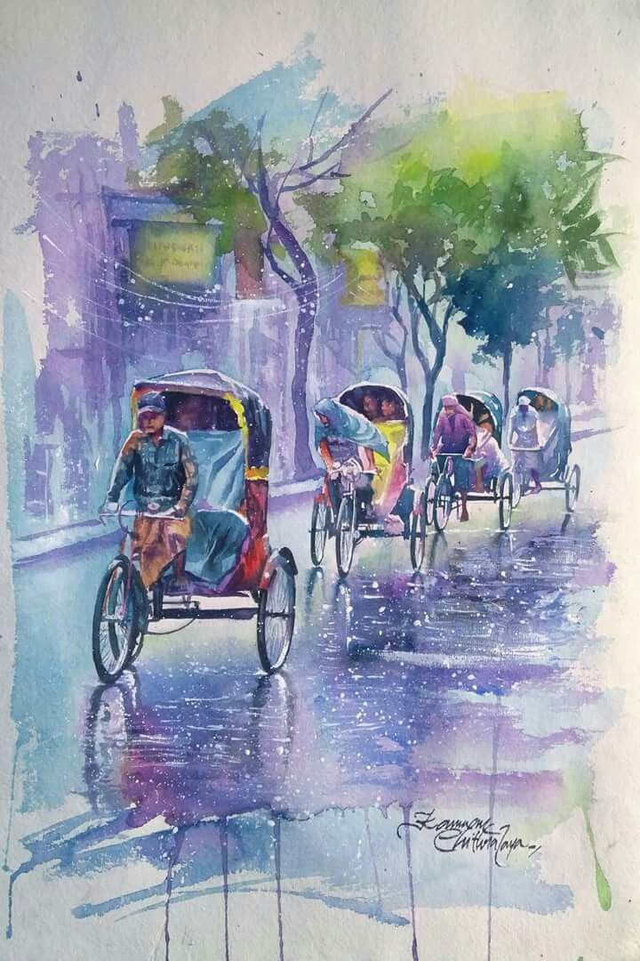 Composition Painting By Sudeep Shah On Composition Painting