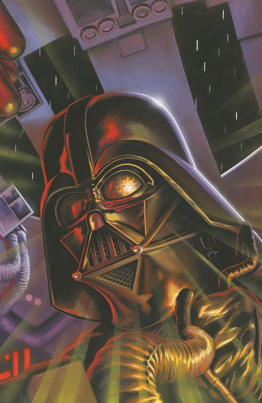 Star Wars - Darth Vader and the Cry of Shadows #4 by Felipe Massafera
