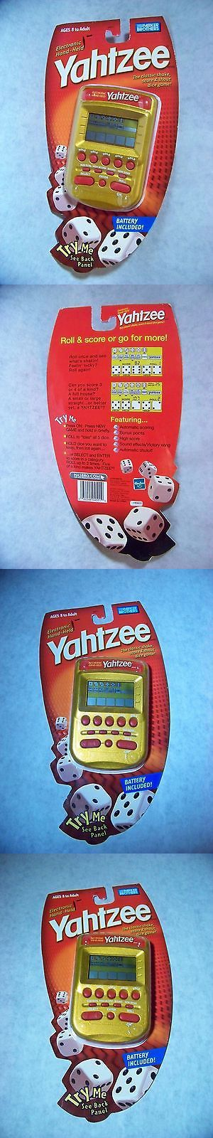 Electronic Games 2540: New Parker Brothers Yahtzee (2004) Electronic Handheld Game Gold And Red Sealed -> BUY IT NOW ONLY: $32.51 on eBay!