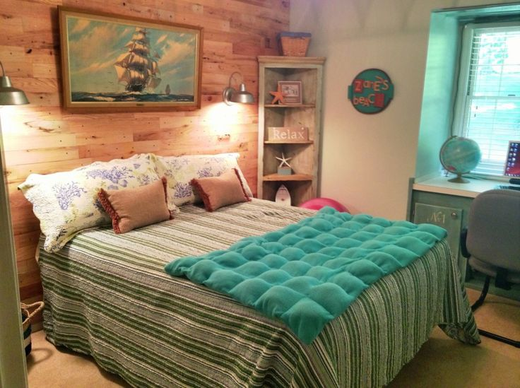 256 best images about bedroom on pinterest beach theme bedrooms girl room decorating and small rooms - Beach Bedroom Decorating Ideas