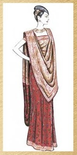 Indo western style