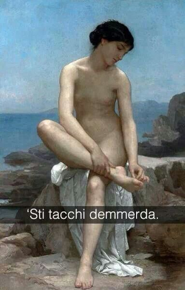 Bagnante - William Bouguereau (1879)