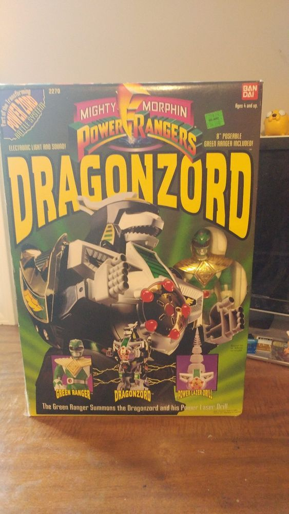 Original Power Rangers Dragonzord/Green Ranger 1993 (Possibly opened) Item #2270