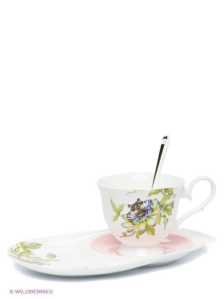 "Чайная пара ""Итальянская Роза"" (Pavone), Pavone на Маркете VSE42.RU"