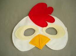 chicken mask - Cerca con Google