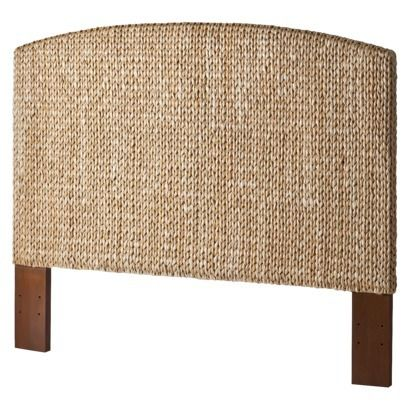 Andres Seagrass Headboard. Target. $219.99. Like the $450 one from Pottery Barn.