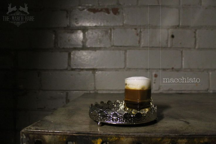 Macchiatto: traditionally an espresso marked with foam. #coffee #macchiatto #coffeeshop